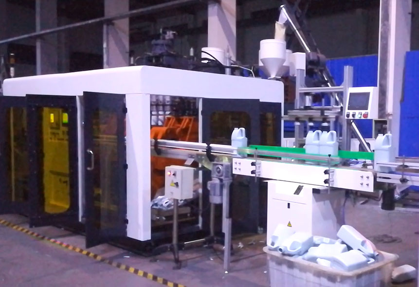 Video of Blow Molding Machine Production Line